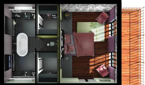 amenagement suite parentale dressing salle de bain - Amenagement Suite Parentale Dressing Salle De Bain