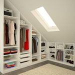 Amenager dressing sous pente