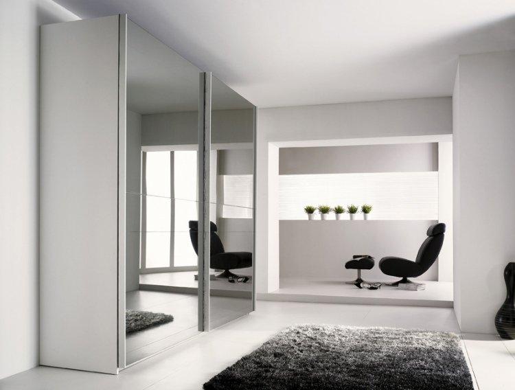 armoire dressing miroir