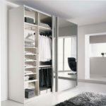 Armoire dressing portes coulissantes miroir