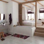 Chambre avec dressing et salle de bain