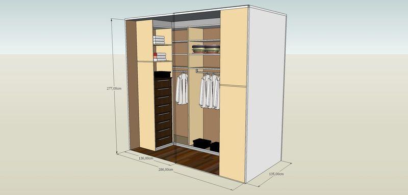 concevoir dressing