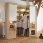 Créer un dressing dans une chambre