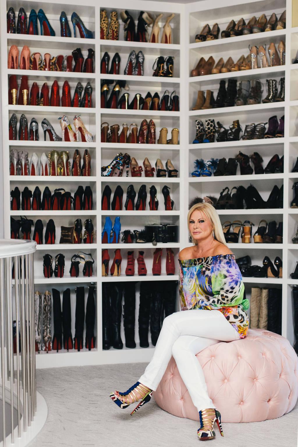 dressing à chaussures
