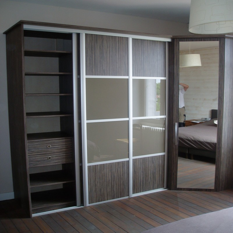 armoire porte coulissante petite profondeur elegant. Black Bedroom Furniture Sets. Home Design Ideas