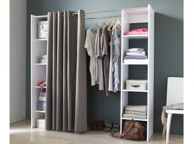 fabriquer un dressing sur mesure free chambre cosy avec dressing intgr with fabriquer un. Black Bedroom Furniture Sets. Home Design Ideas