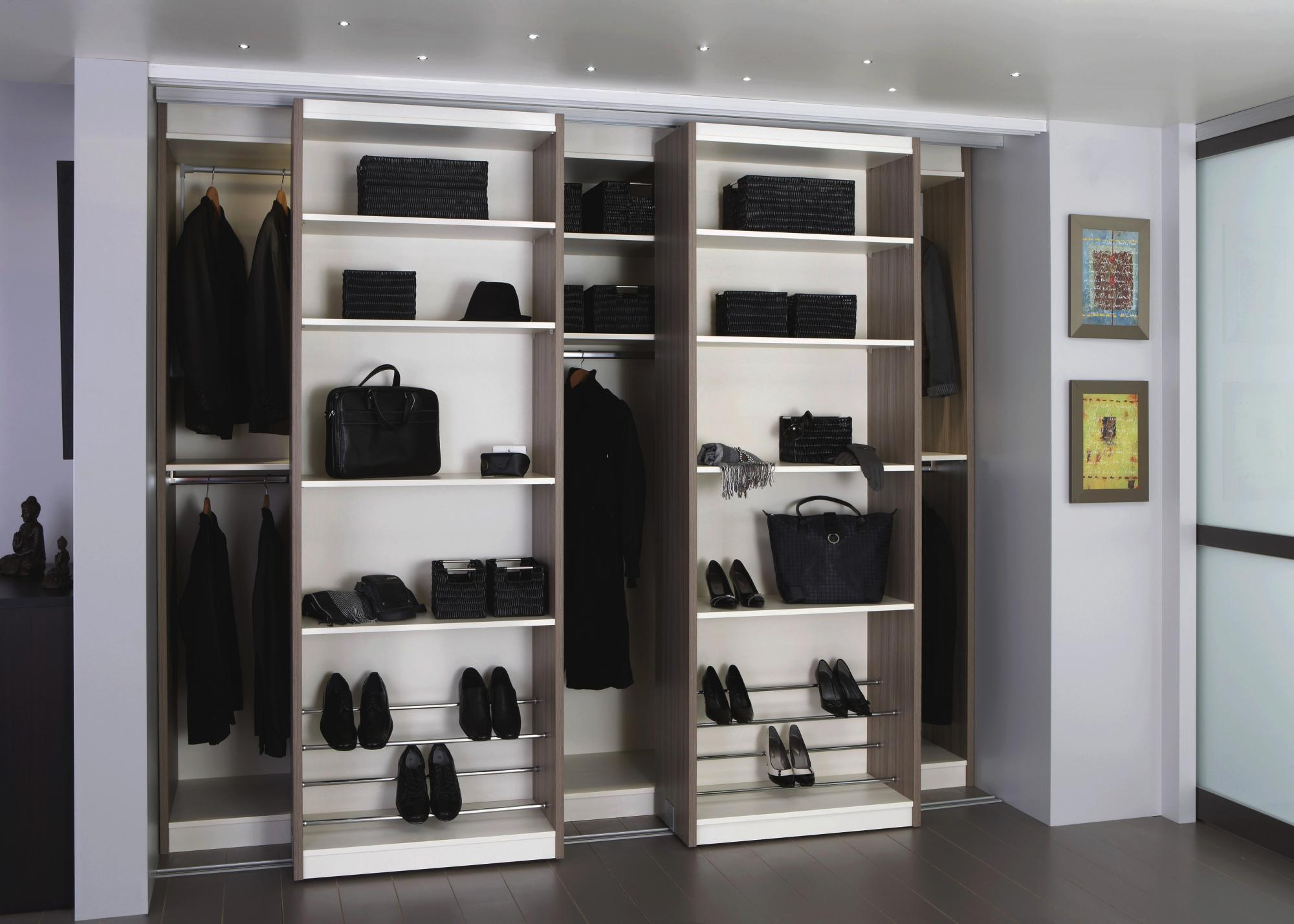 dressing coulissant