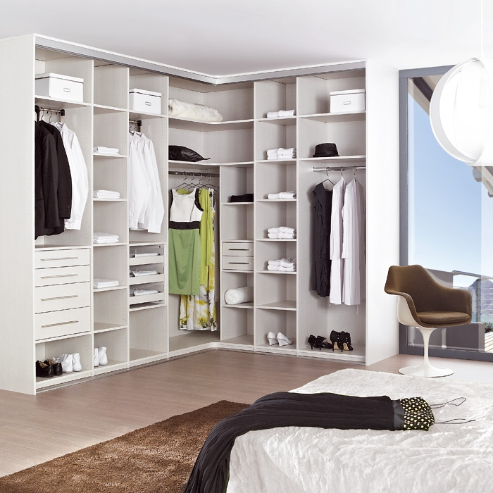 stunning dressing en l with dressing lapeyre. Black Bedroom Furniture Sets. Home Design Ideas