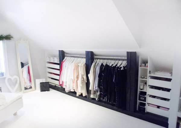 dressing sous pente pas cher rn73 jornalagora. Black Bedroom Furniture Sets. Home Design Ideas