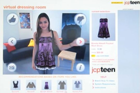 dressing virtuel