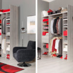 Idée dressing petite chambre