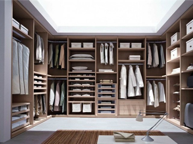 interieur de dressing