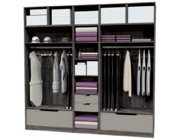 kit dressing modulable latest rangement with kit dressing modulable latest amenagement. Black Bedroom Furniture Sets. Home Design Ideas