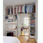 Petit dressing chambre