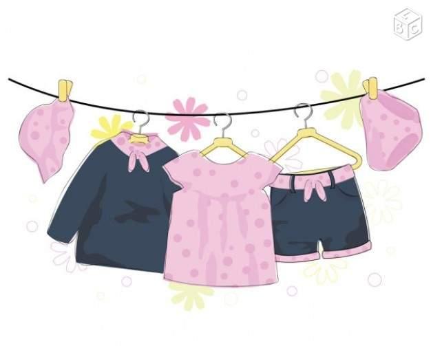 vide dressing bébé fille